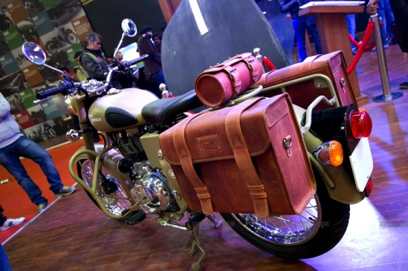 Royal Enfield Riding gears Auto Expo 2012 India -3