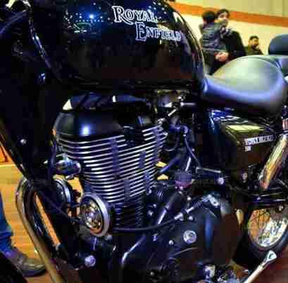 Thunderbird 500 Auto Expo 2012 India 09