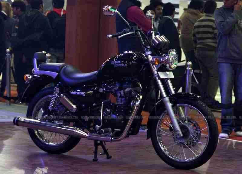 Thunderbird 500 launched at Auto Expo Delhi