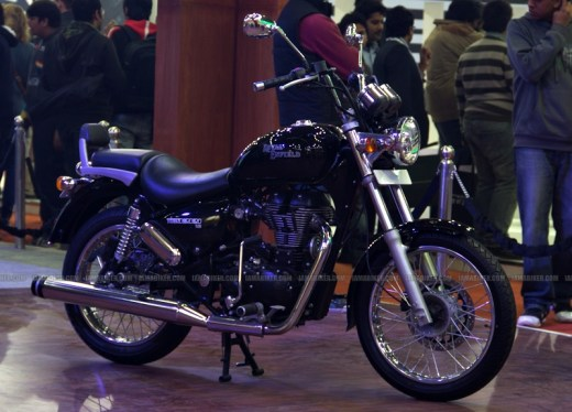 Thunderbird 500 launched at Auto Expo Delhi