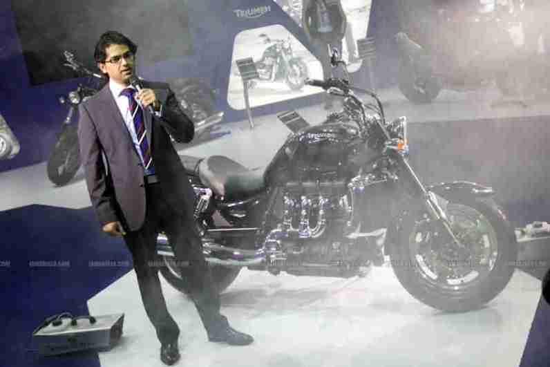 Triumph India Auto Expo