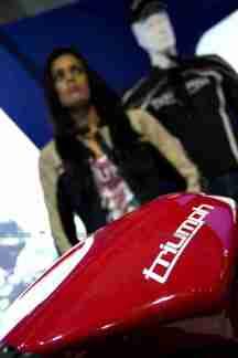 Triumph Motorcycles Auto Expo 2012 India 13