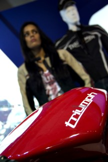 Triumph Motorcycles Auto Expo 2012 India 13