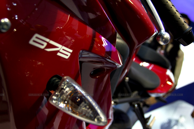 Triumph Motorcycles Auto Expo 2012 India 14