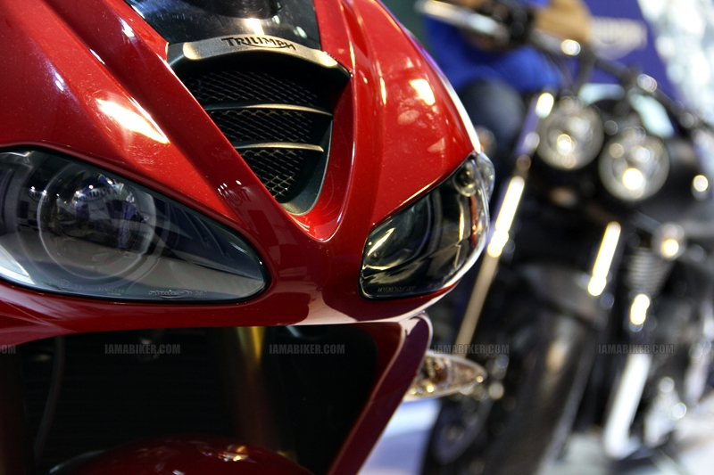 Triumph Motorcycles Auto Expo 2012 India 26