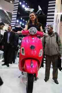 Vespa - Piaggio Auto Expo 2012 India 14