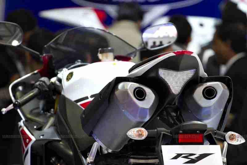 Yamaha Auto Expo 2012 India 06