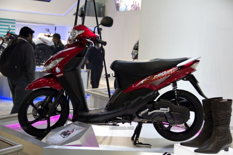 Yamaha Auto Expo 2012 India 40