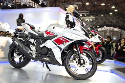 Yamaha R15 V 2.0 50th Anniversary edition Auto Expo 2012 India 25