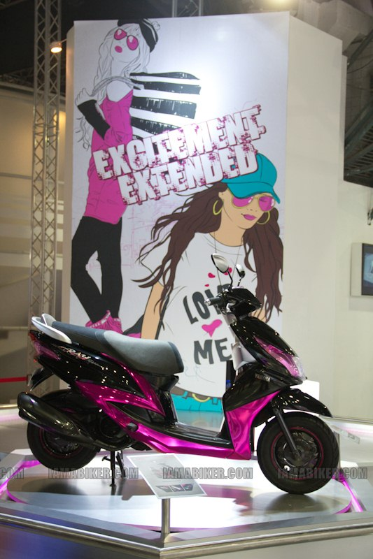 Yamaha Ray Auto Expo 2012 Delhi
