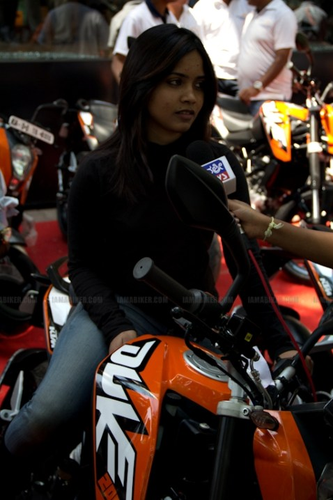 KTM Duke 200 Bangalore launch 22