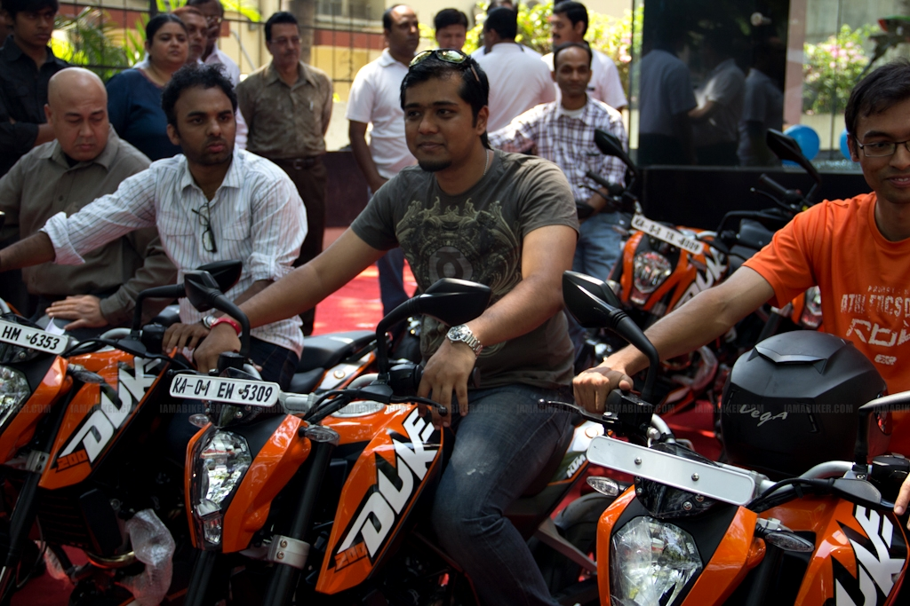 KTM Duke 200 Bangalore launch 26