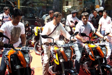 KTM Duke 200 Bangalore launch 30