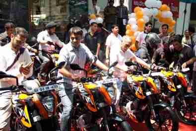 KTM Duke 200 Bangalore launch 31