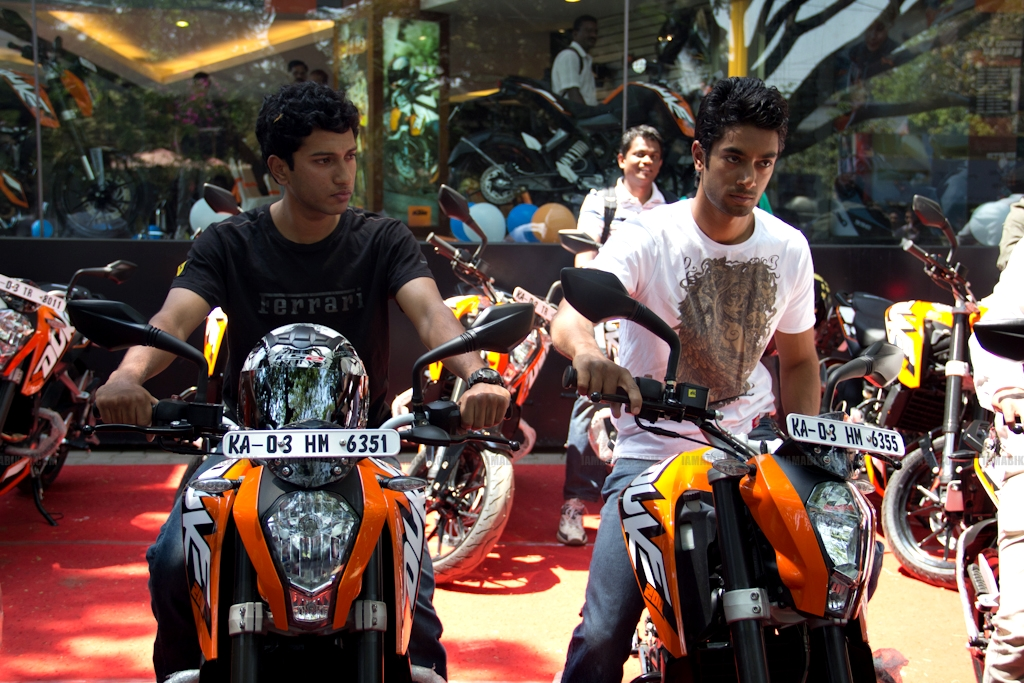 KTM Duke 200 Bangalore launch 33