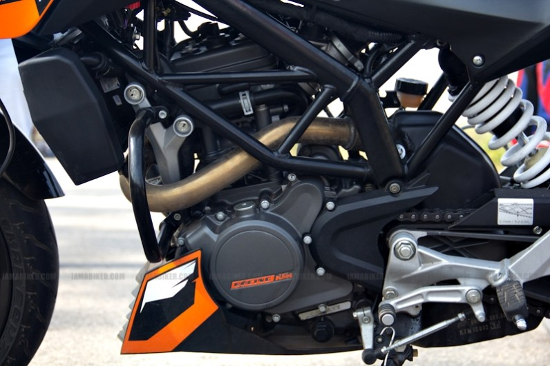KTM Duke 200 review 24