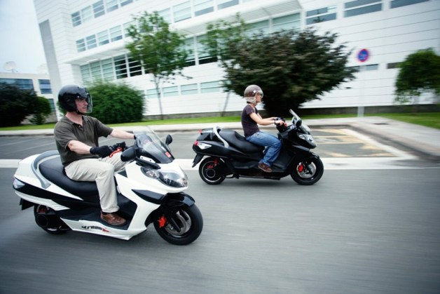 LEMev Stream electric scooter 2012