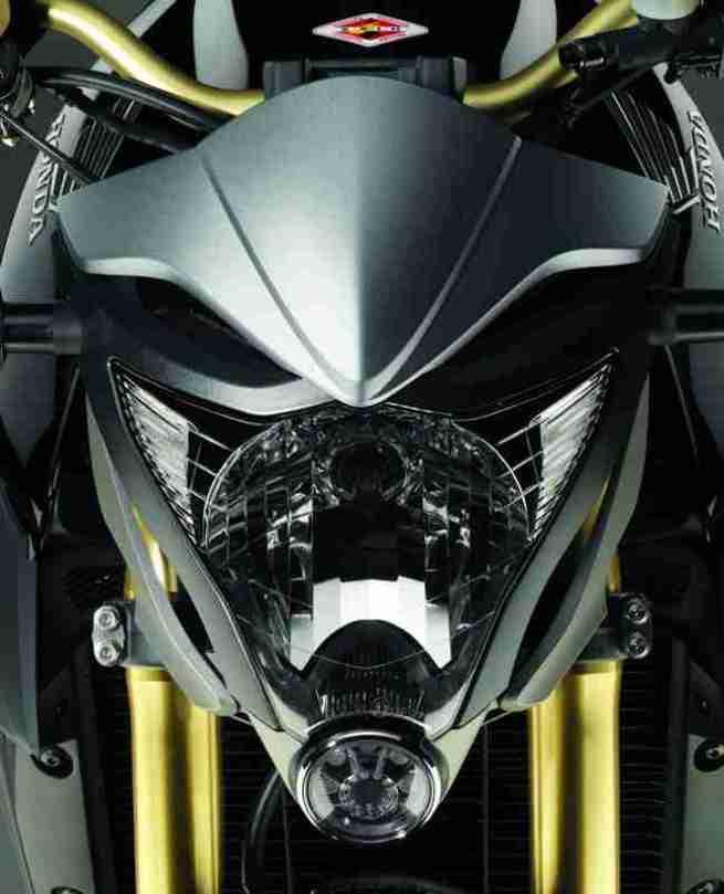2012 Honda CB1000R - Matt Gray and Gold 05