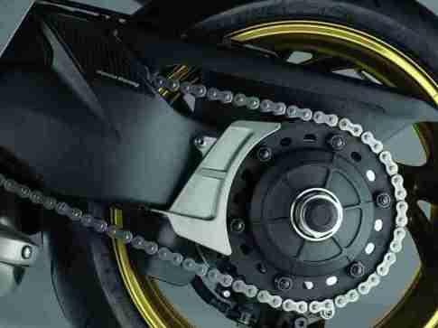2012 Honda CB1000R - Matt Gray and Gold 06