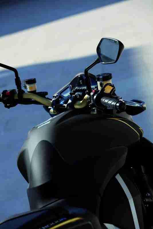 2012 Honda CB1000R - Matt Gray and Gold 12