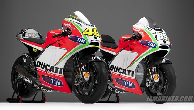 Ducati 2012 MotoGP livery and team presentation