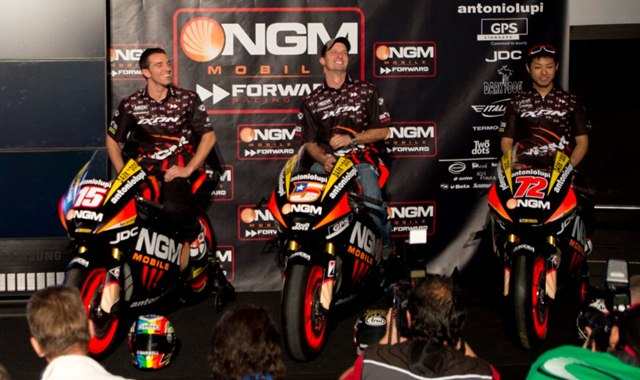 NGM Forward Racing MotoGP and Moto2 2012 team presentation