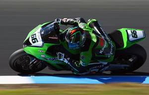 Tom Sykes at Aragon tests