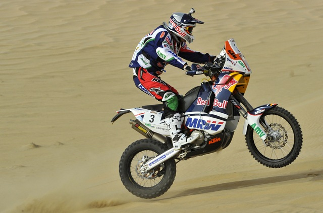 Sealine Cross Country Rally Stage 3 report