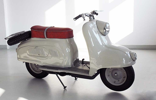 The R10 scooter prototype from BMW 1950