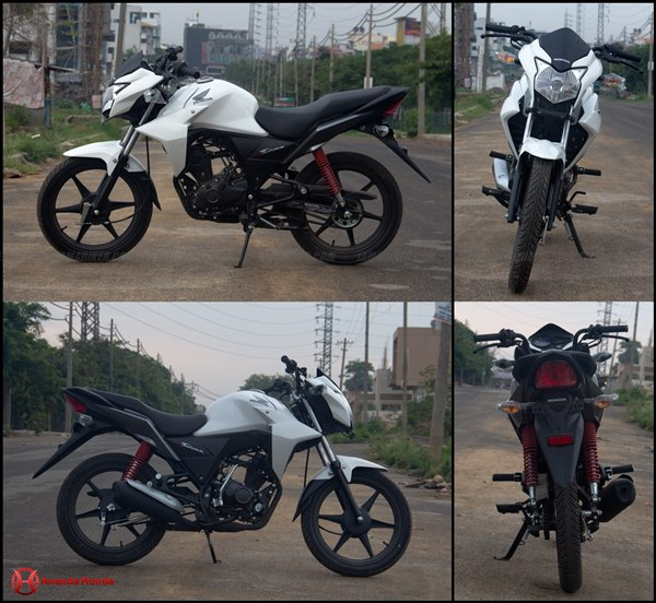 honda cb twister review - looks feel and build quality