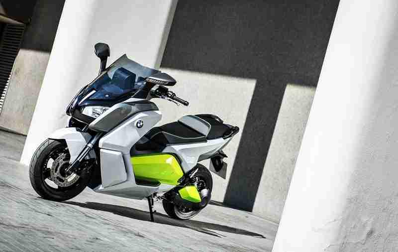 BMW C evolution scooter 10