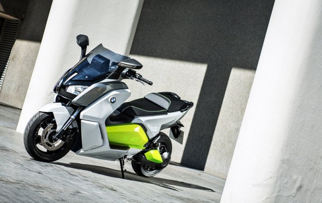 BMW C evolution scooter 10