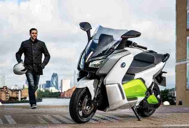 BMW C evolution scooter 11