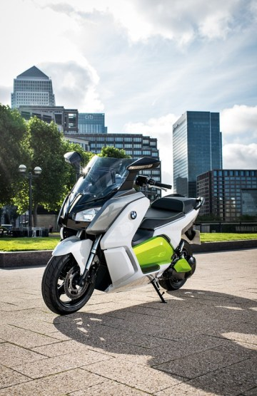 BMW C evolution scooter 12