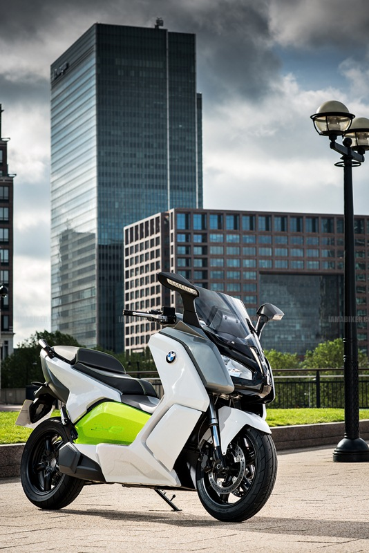 BMW C evolution scooter 14