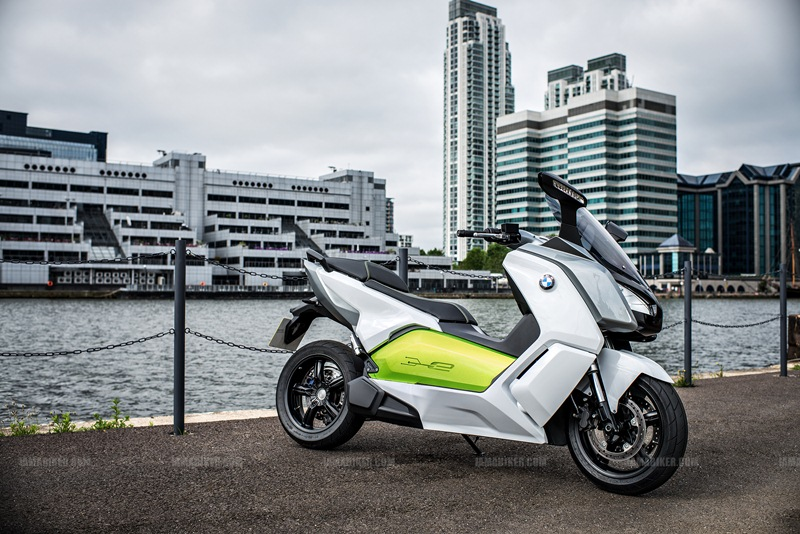 BMW C evolution scooter 18