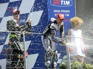Lorenzo wins at Mugello GP