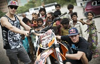 Red Bull X-Fighters New Delhi photographs