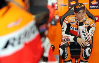Casey Stoner ankle surgery