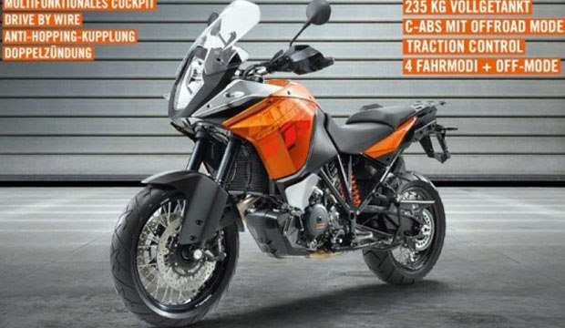 New KTM 1190 Adventure for 2013