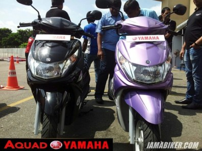 yamaha scooter india