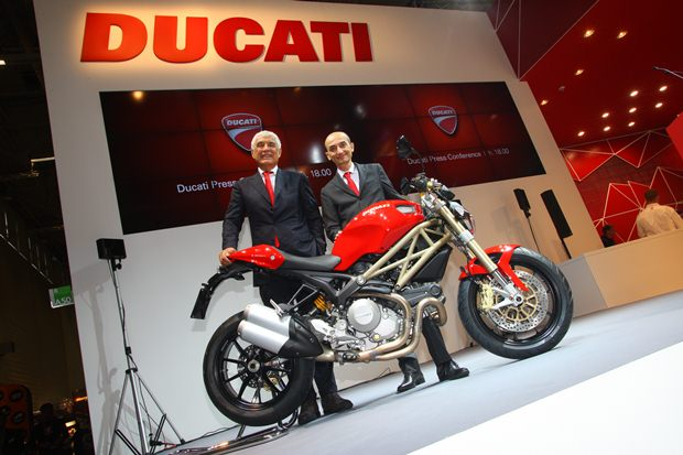 Ducati 2013 models at INTERMOT