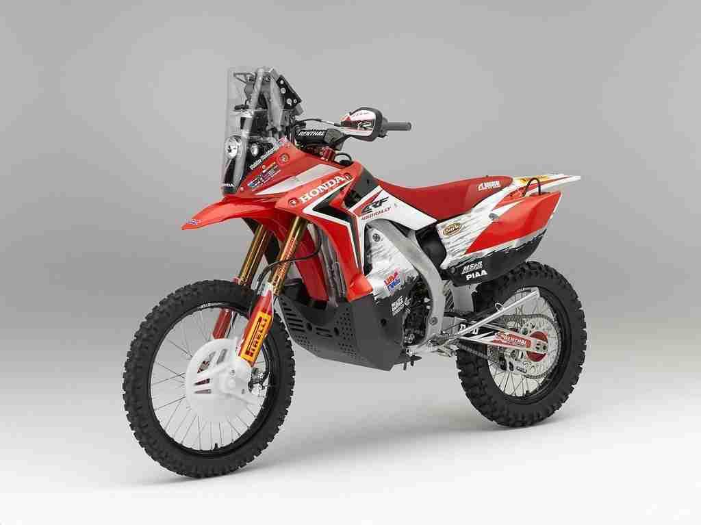 Honda CRF450 rally - 2