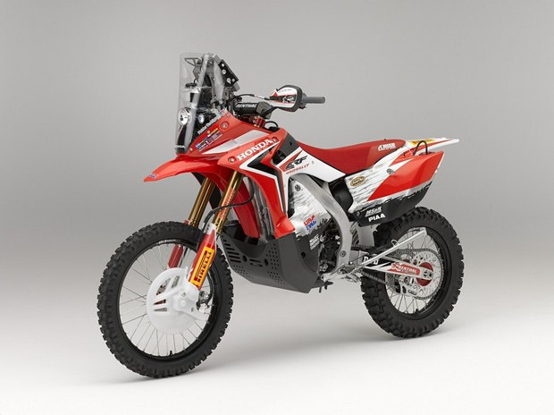 Honda CRF450 rally unveiled at the Intermot