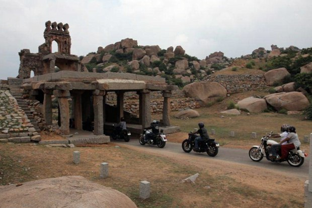 harley owners group ride to india