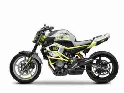 yamaha cage six stunt motorcycle xj6 - 03