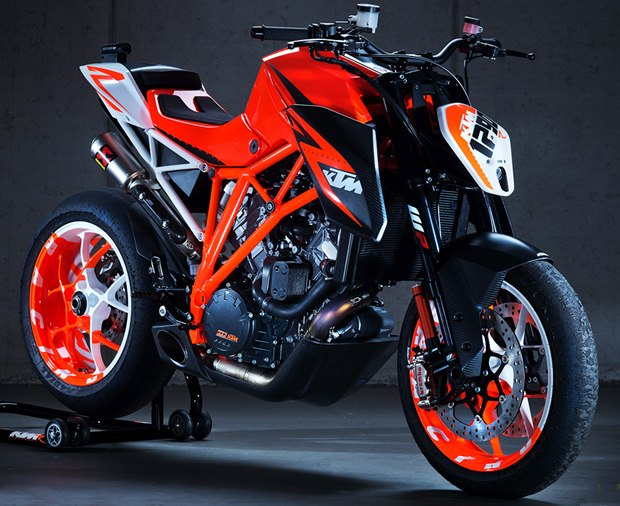 KTM Super Duke 1290 R prototype first photographs
