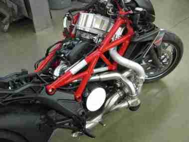 Turbo charged Ducati Diavel - 03