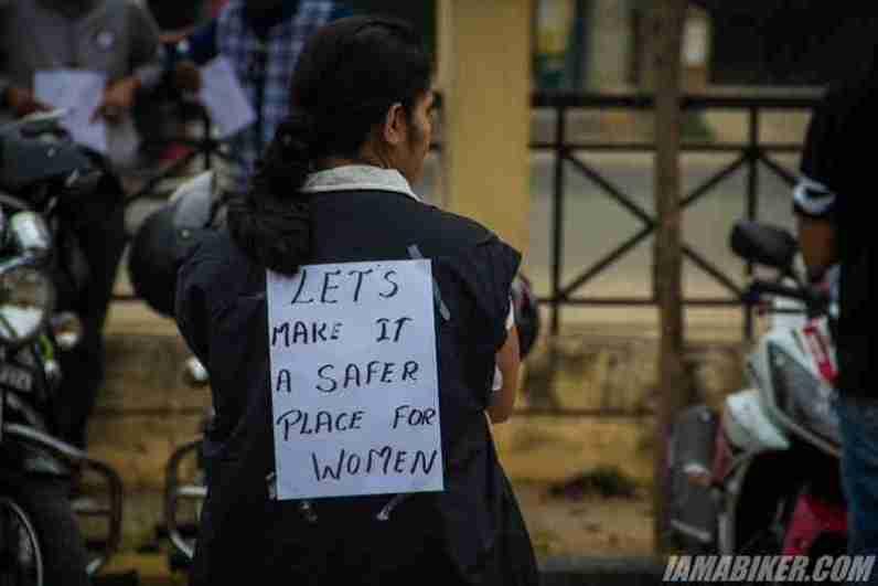 Bikerni Safety for Women ride - Bangalore - 01
