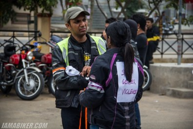 Bikerni Safety for Women ride - Bangalore - 02